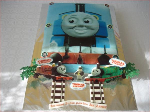 Thomas die kleine Lokomotive (Zug) & Freunde Torte - Torten - diangel ...