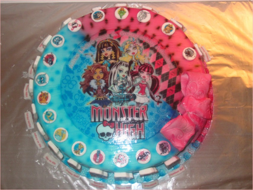 kuchen monster high