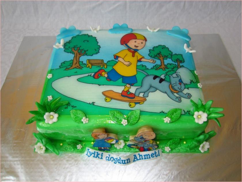 caillou torte