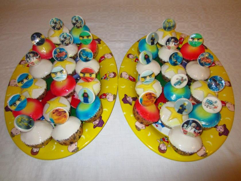 Lego Ninjago Muffins - Torten - diangel.com - Torten von Diana ...