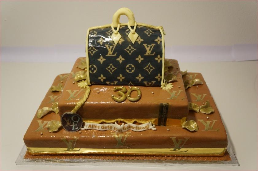 Lv Tasche Torte