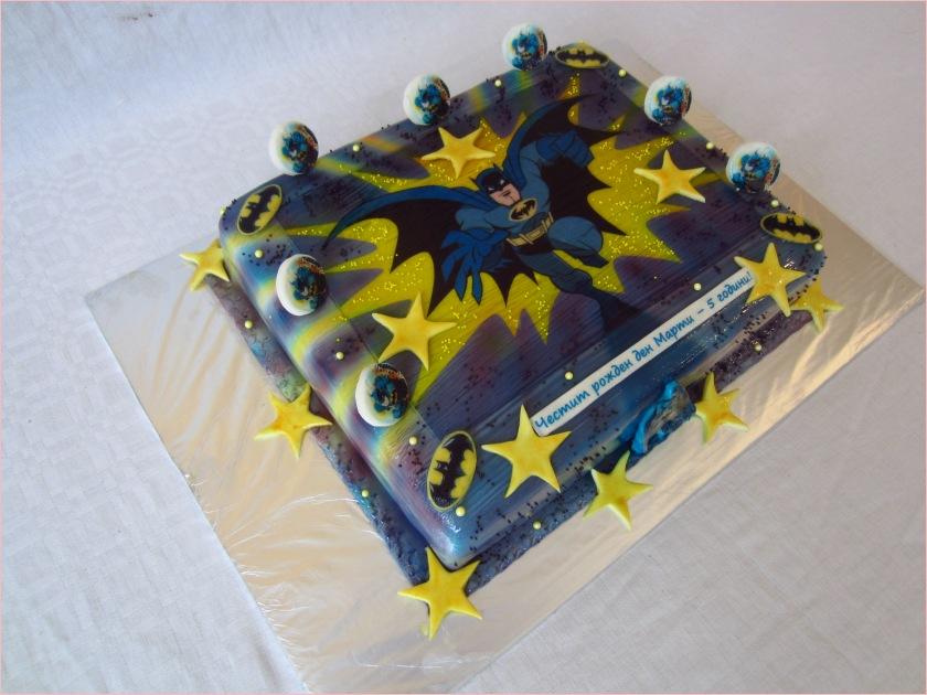 Batman Torte - Torten - diangel.com - Torten von Diana Filipova