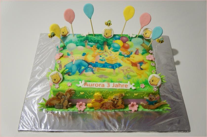 Winnie Pooh & Freunde Torte mit Luftballons - Torten ...
