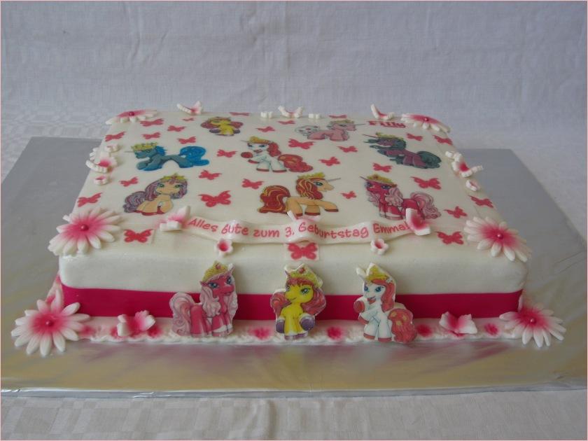 ponies Torte mit Schmetterlinge (Filly pony), Filly Pferde - Torten ...